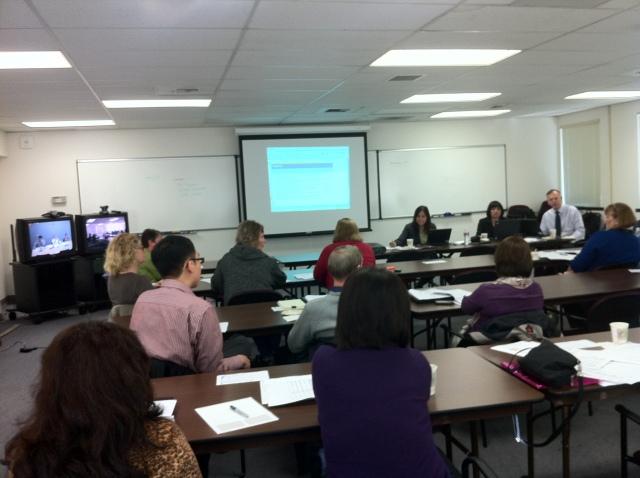 photo of RFP workshop participants