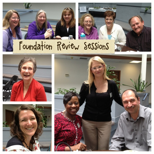 Foundation Review Monday Lunch