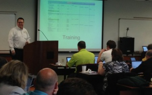 Andy discusses the ctcLink training schedule