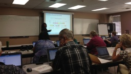 Shon Dicks-Schlesinger goes over the Chart of Accounts setup with FirstLink College Finance SMEs.