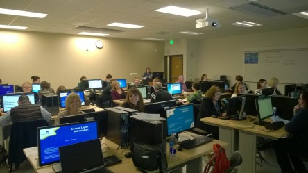 These Subject Matter Experts (SMEs) were all smiles earlier this month during Campus Solutions training in Spokane.